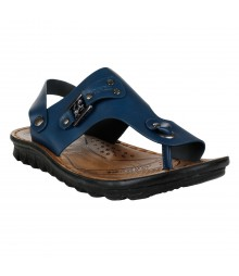 Cefiro Blue Sandal for Men - CSD0036